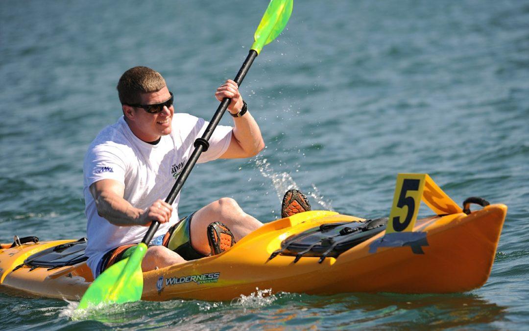 Utiliser le rameur pour s'entraîner au Kayak